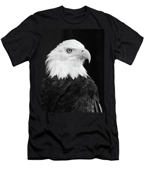 Men's T-Shirt (Slim Fit) featuring the photograph Eagle Portrait Special  by Coby Cooper