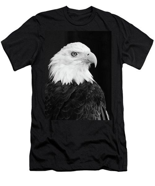Eagle Portrait Special  Men's T-Shirt (Slim Fit)