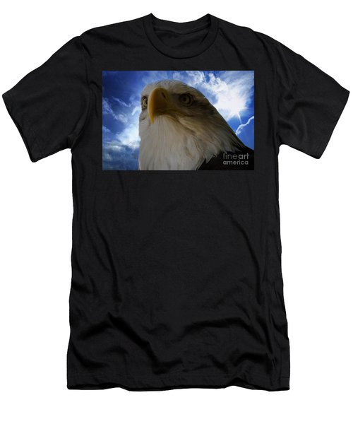 Eagle Men's T-Shirt (Slim Fit) by Sherman Perry