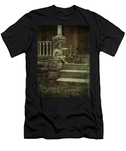 Ear Scratch And Straw Hat Men's T-Shirt (Athletic Fit)