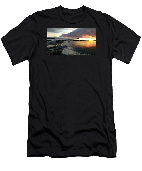 Early Departures Men's T-Shirt (Slim Fit) by Mark Alan Perry