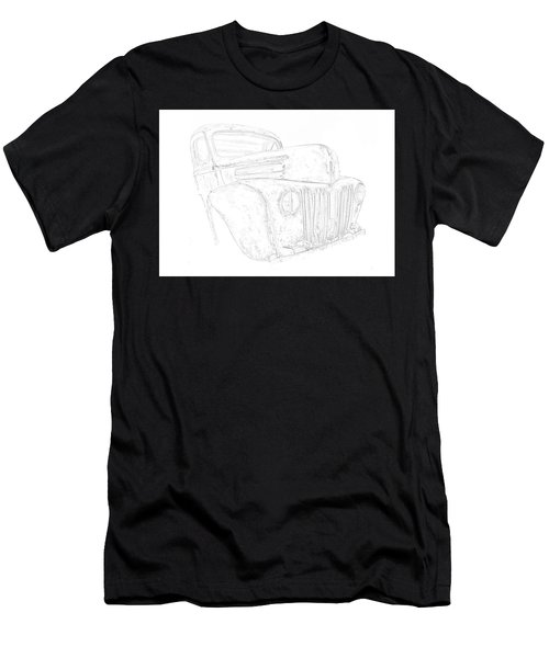 Early Ford Truck Men's T-Shirt (Athletic Fit)
