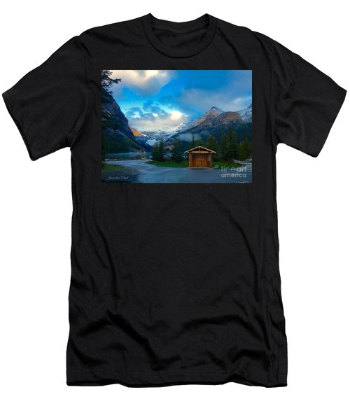 Early Moody Morning Men's T-Shirt (Athletic Fit)