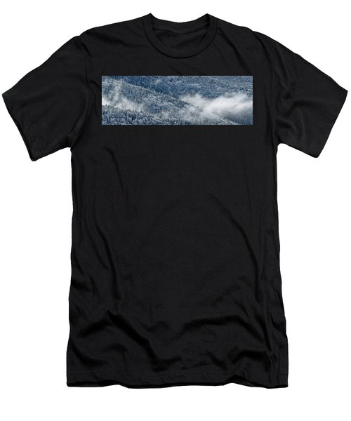 Early Morning After A Snowfall Men's T-Shirt (Athletic Fit)