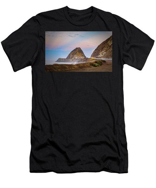 Early Morning At Mugu Rock Men's T-Shirt (Athletic Fit)