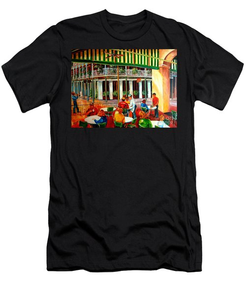 Early Morning At The Cafe Du Monde Men's T-Shirt (Athletic Fit)