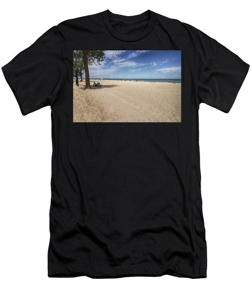 Early Morning Beach Men's T-Shirt (Athletic Fit)