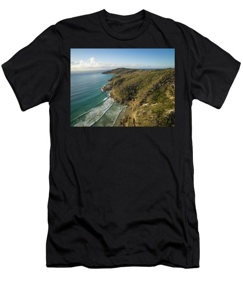 Early Morning Coastal Views On Moreton Island Men's T-Shirt (Athletic Fit)