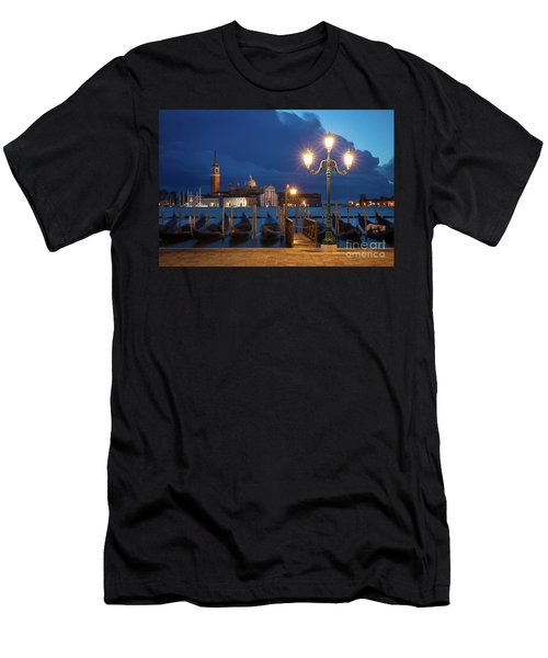 Men's T-Shirt (Slim Fit) featuring the photograph Early Morning In Venice by Brian Jannsen