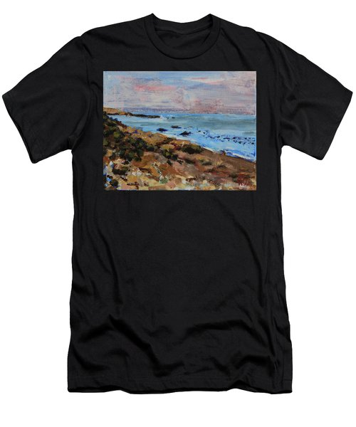 Early Morning Low Tide Men's T-Shirt (Athletic Fit)