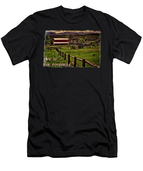 Early Morning Pastures In The Foothills Men's T-Shirt (Athletic Fit)