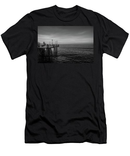Men's T-Shirt (Athletic Fit) featuring the photograph Early Morning Redondo By Mike-hope by Michael Hope