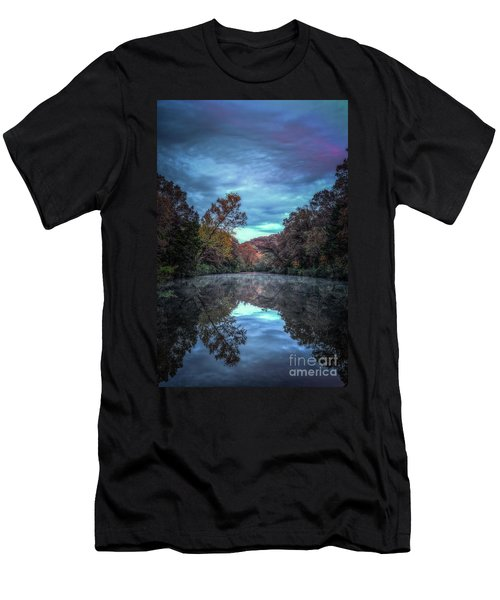Early Morning Reflection Men's T-Shirt (Athletic Fit)
