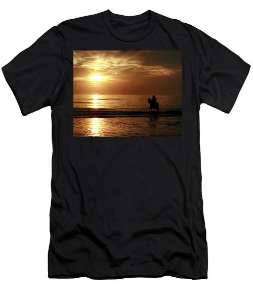 Early Morning Ride Men's T-Shirt (Athletic Fit)