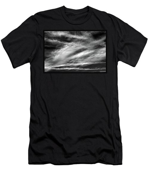 Men's T-Shirt (Slim Fit) featuring the photograph Early Morning Sky. by Terence Davis