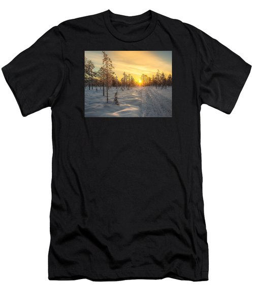Early Morning Sun Men's T-Shirt (Athletic Fit)