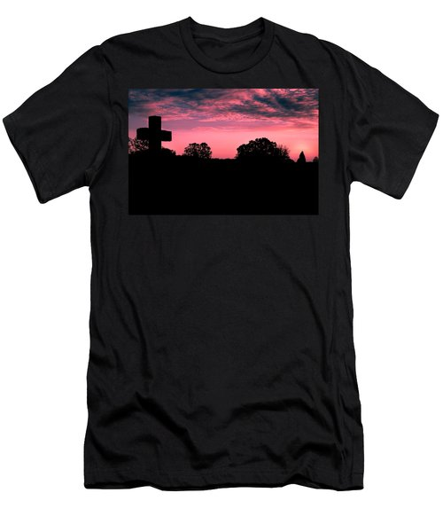Early On The Hill Men's T-Shirt (Athletic Fit)