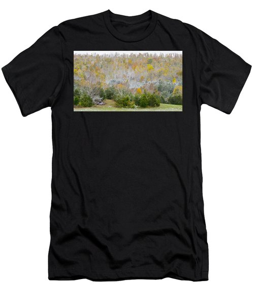 Early Snow Fall Men's T-Shirt (Athletic Fit)