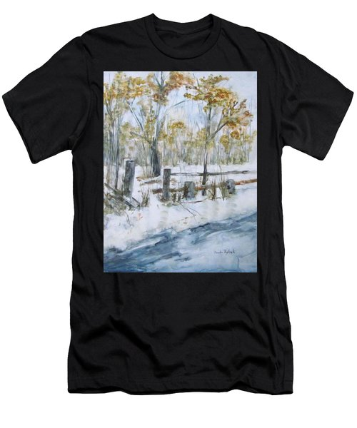 Early Spring Snow Men's T-Shirt (Athletic Fit)