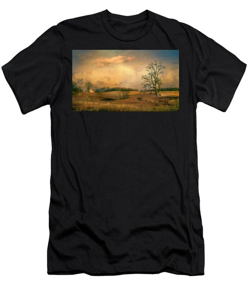 Early Spring Storm Men's T-Shirt (Athletic Fit)