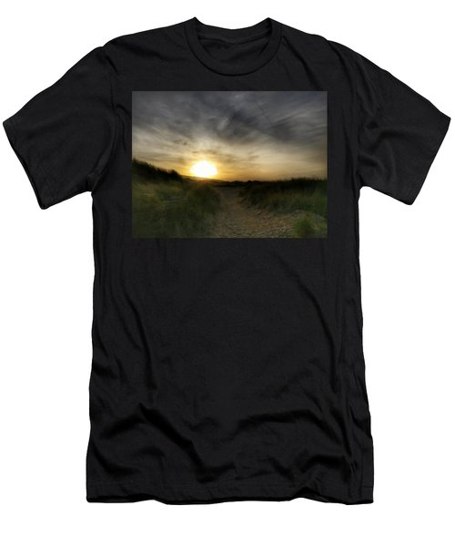 Early Winter Sun Men's T-Shirt (Athletic Fit)