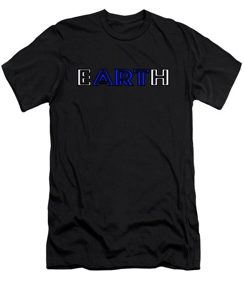 Earth Art Men's T-Shirt (Athletic Fit)