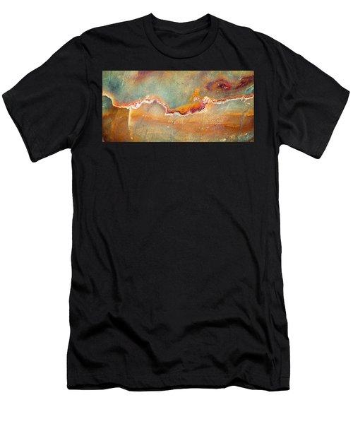 Earth Portrait 001-98 Men's T-Shirt (Athletic Fit)