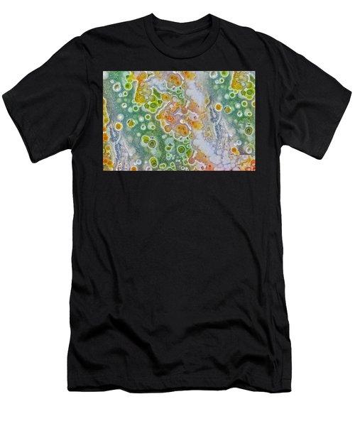 Earth Portrait 277 Men's T-Shirt (Athletic Fit)