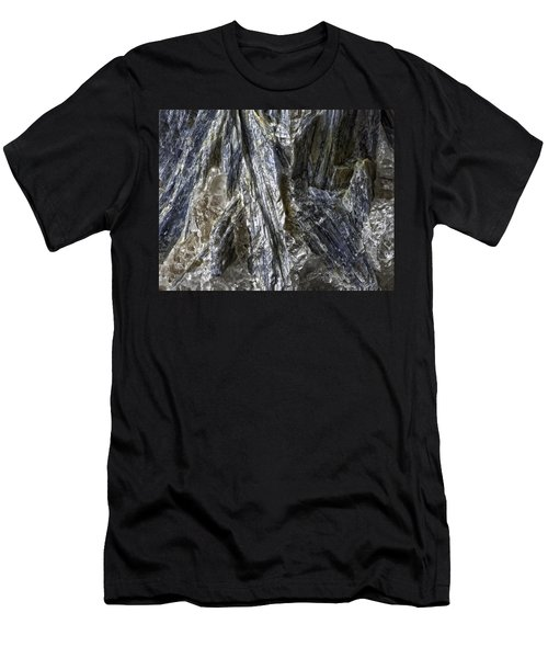 Earth Portrait Kyanite 001-089 Men's T-Shirt (Athletic Fit)