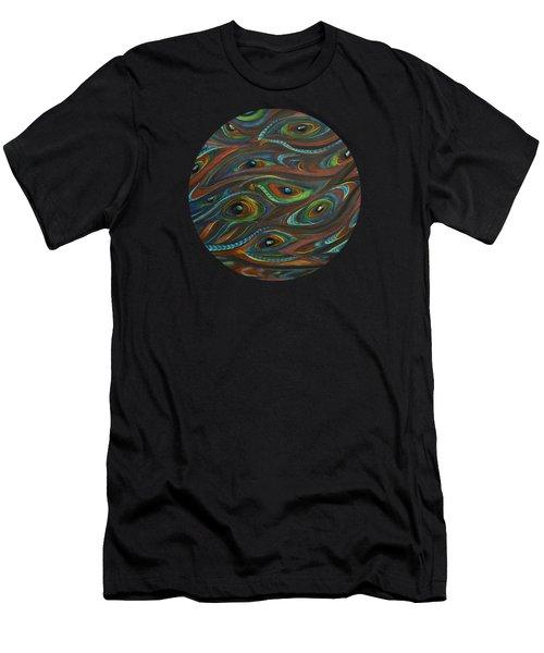 Earth Song Men's T-Shirt (Slim Fit) by Deborha Kerr