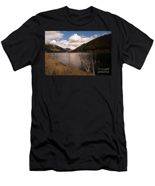 Earthquake Lake Men's T-Shirt (Athletic Fit)