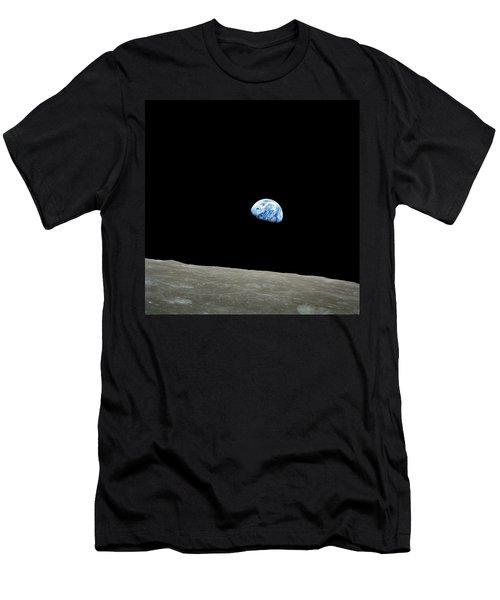 Earthrise - The Original Apollo 8 Color Photograph Men's T-Shirt (Athletic Fit)