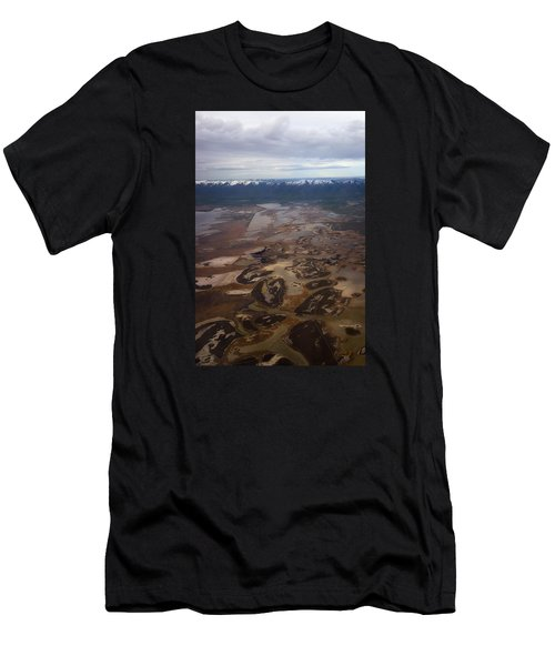 Men's T-Shirt (Slim Fit) featuring the photograph Earth's Kidneys by Ryan Manuel