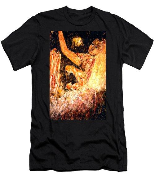 Earthy Goddess Men's T-Shirt (Athletic Fit)