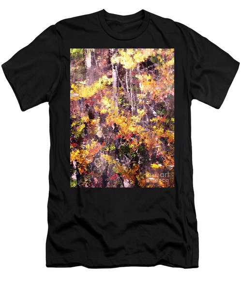 Earthy Water Men's T-Shirt (Slim Fit) by Melissa Stoudt