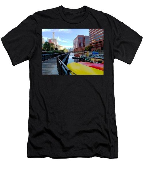East Cambridge  Men's T-Shirt (Athletic Fit)