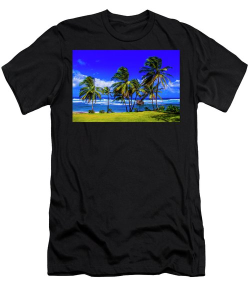 East Coast Men's T-Shirt (Athletic Fit)