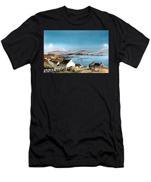 East End, Inishboffin, Galway Men's T-Shirt (Athletic Fit)