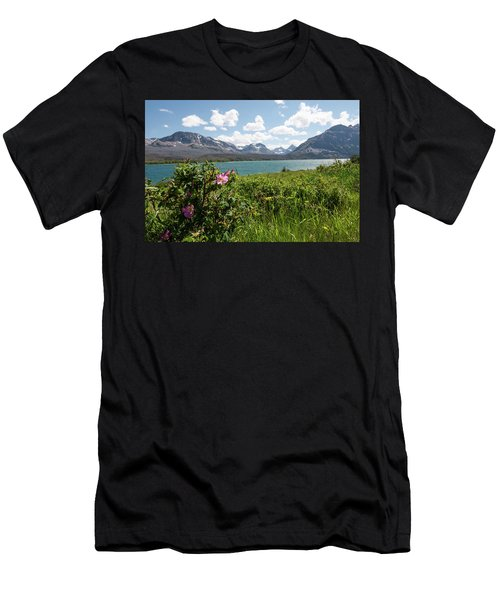 East Glacier National Park Men's T-Shirt (Athletic Fit)