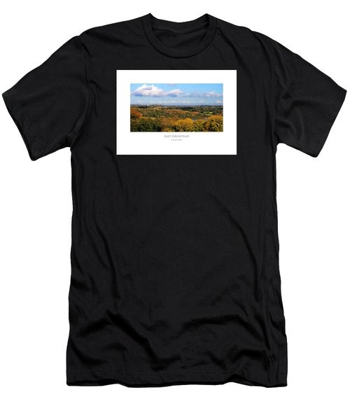 Men's T-Shirt (Athletic Fit) featuring the digital art East Grinstead by Julian Perry