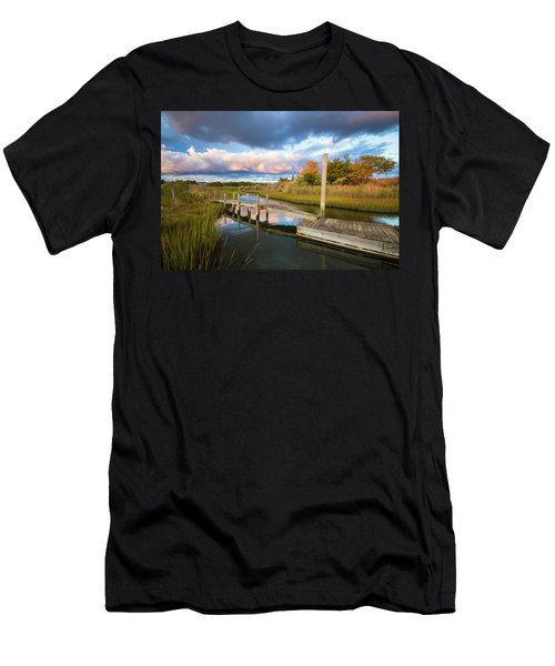 East Moriches Reflections Men's T-Shirt (Athletic Fit)