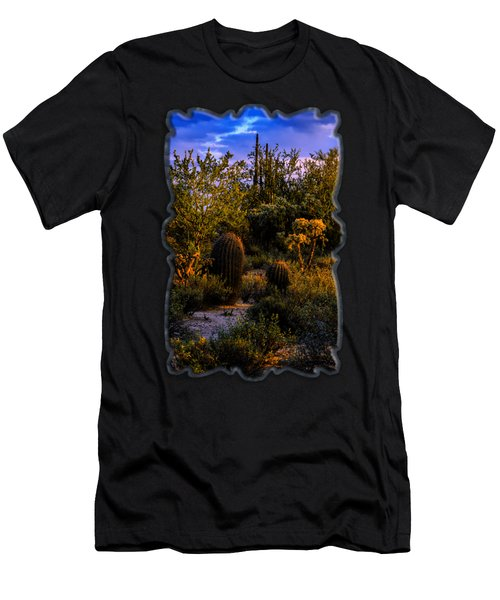 Men's T-Shirt (Athletic Fit) featuring the photograph East Of Sunset V40 by Mark Myhaver