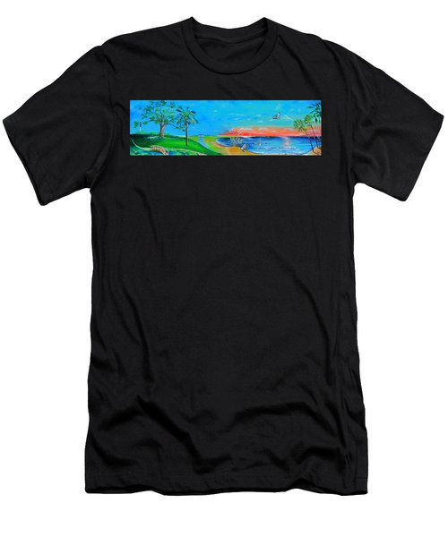 East Of The Cooper Men's T-Shirt (Athletic Fit)