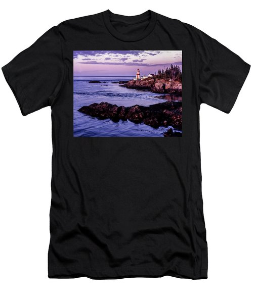 East Quoddy Head, Canada Men's T-Shirt (Athletic Fit)