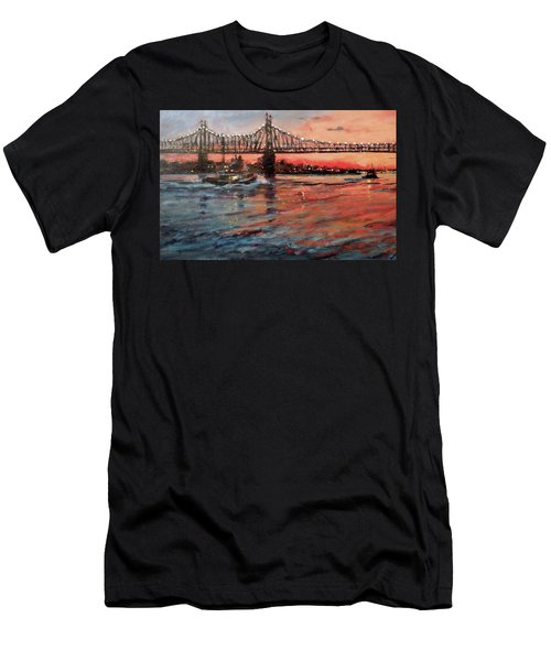 East River Tugboats Men's T-Shirt (Athletic Fit)