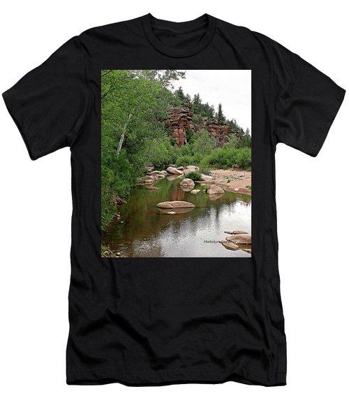 East Verde Spring Crossing Men's T-Shirt (Athletic Fit)
