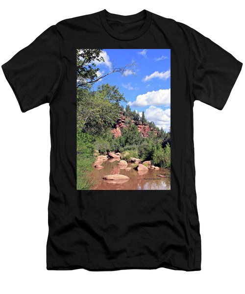 East Verde Summer Crossing Men's T-Shirt (Athletic Fit)