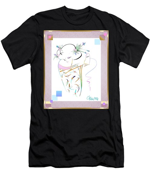 East Wind - Masquerade Men's T-Shirt (Athletic Fit)