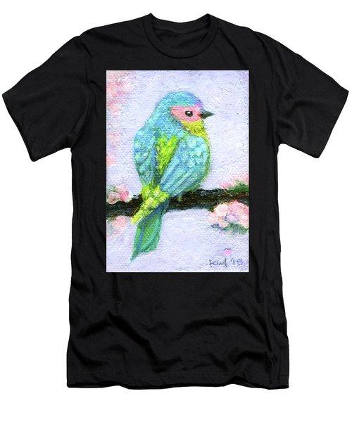 Easter Bird Men's T-Shirt (Athletic Fit)