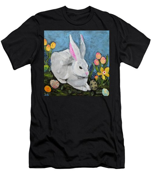 Easter Bunny  Men's T-Shirt (Athletic Fit)